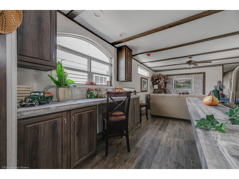 Welcome to the Celebration Model 16763U, a single section manufactured homes, a 3 Bedroom, 2 Bath, 1,178 Sq. Ft. manufactured home available from Palm Harbor Homes.