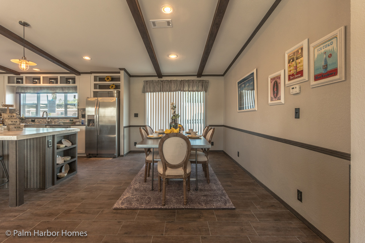 View the carrington 74 floor plan for a 2220 sq ft palm harbor manufactured home in austin texas - Modular dining room ...