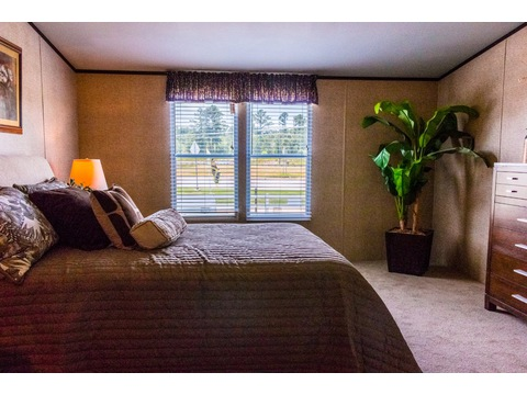 Lots of natural light in master bedroom in the The Momentum II MMT348B1 or MM32483A manufactured home by Palm Harbor Homes - 3 Bedrooms, 2 Baths, 1,488 Sq. Ft