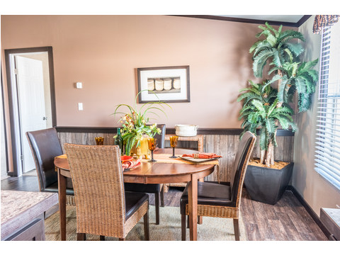 Dining area - the Momentum II MMT348B1 by Palm Harbor Homes