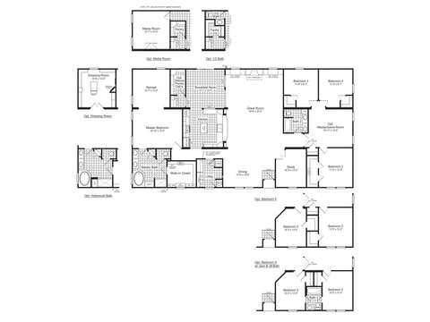 >The Evolution Standard Floor Plan, 3,116 Sq. Ft. - Palm Harbor Homes