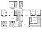 The Evolution Optional Floor Plan with wrap-around porch, 2,748 Sq. Ft. - Palm Harbor Homes