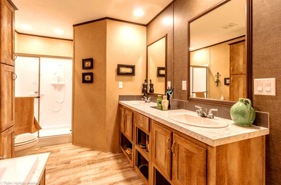 Large Master Bath Singlewide Homes TX
