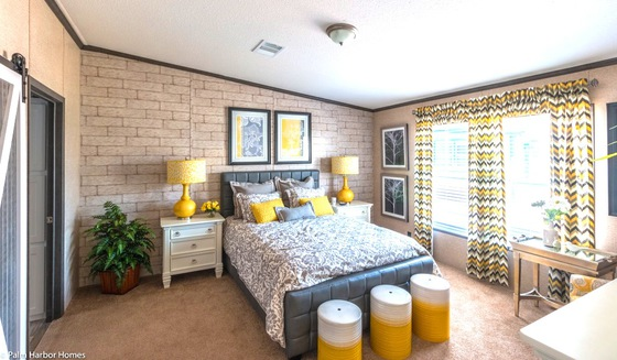 Master bedroom suite in home san diego tx