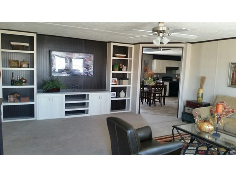 Built in entertainment center in living room - Model 32603A