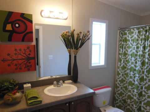 Guest bathroom - The Ventura TST348E8 by Palm Harbor Homes