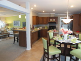 Kitchen and dining area - The Ventura TST348E8 by Palm Harbor Homes