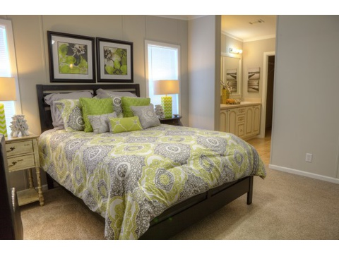 The Ventura manufactured home Master bedroom - - what's not to love?