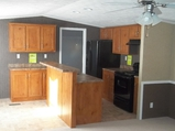Kitchen with breakfast bar - Model 1656A