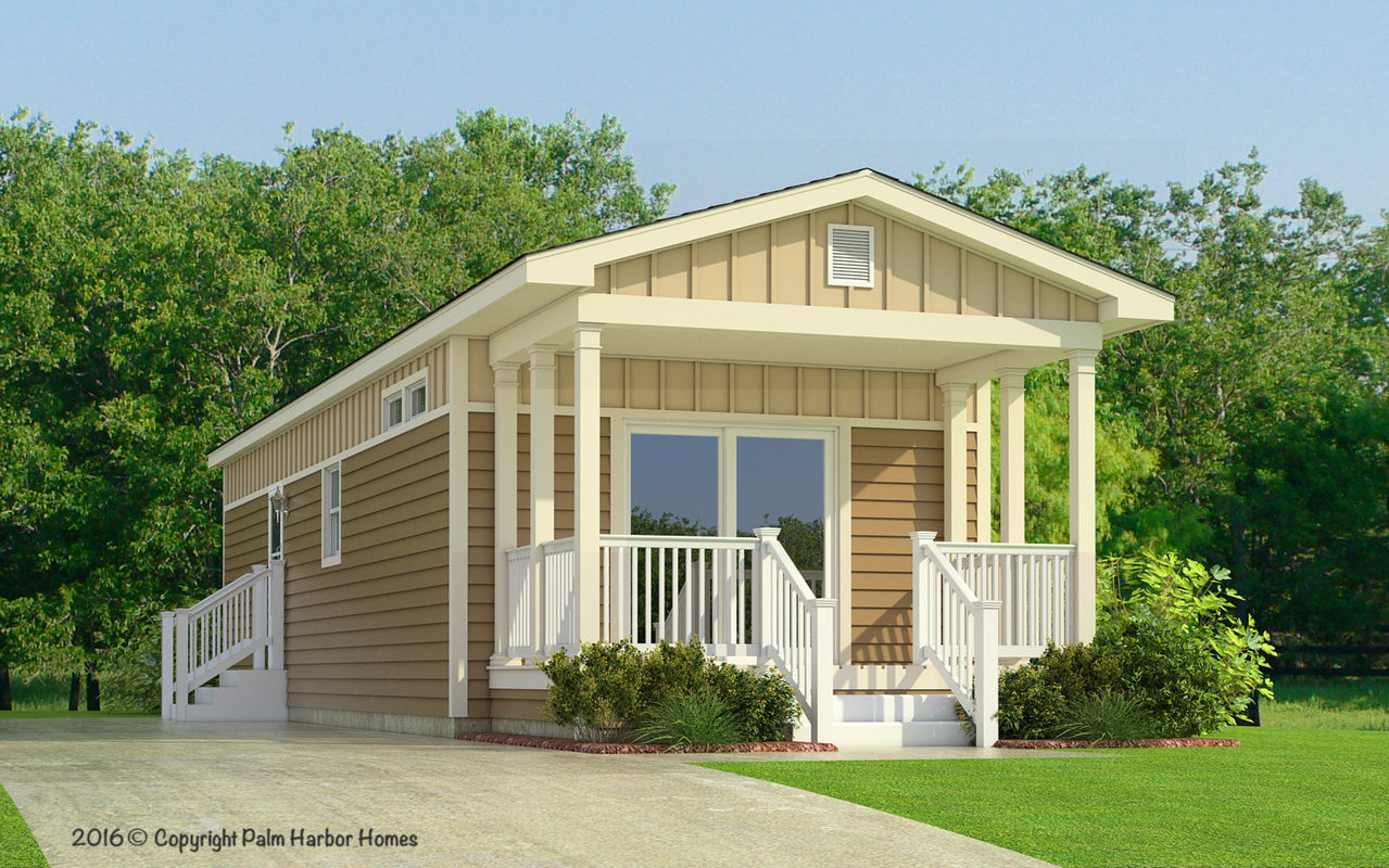 The sunset cottage ii 16522a manufactured home floor plan for Cottage manufactured homes