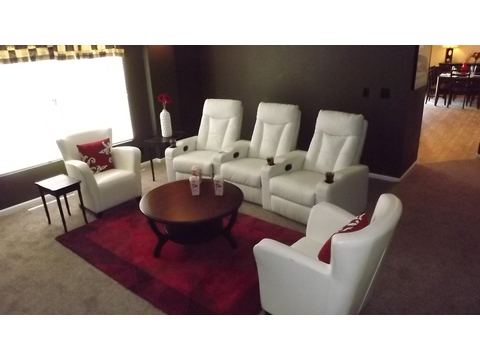Spacious family/media room - The Pecan Valley III - Extra Wide KHV368H1 by Palm Harbor Homes