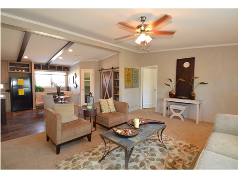 Living room - The Kensington 4 ML30604K by Palm Harbor Homes