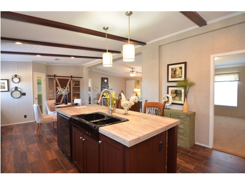 Kitchen island - The Kensington 4 ML30604K by Palm Harbor Homes