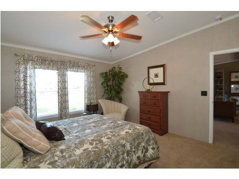 Master bedroom - The Kensington 4 ML30604K by Palm Harbor Homes