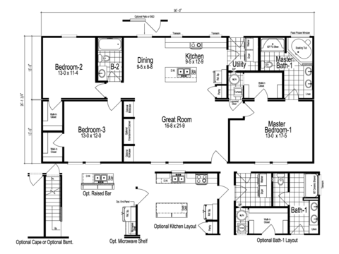 >The Noble Floor Plan