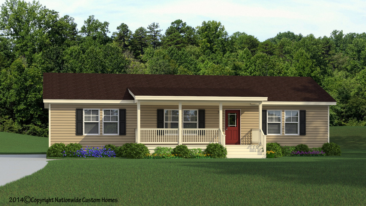 The noble manufactured home floor plan or modular floor plans for One level modular homes