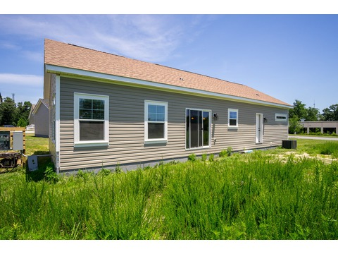 Back Exterior - The Logan, 3 Bedrooms, 2 Baths, 1,720 Sq. Ft.