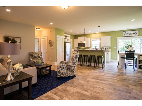 From the Entrance - The Logan, 3 Bedrooms, 2 Baths, 1,720 Sq. Ft.
