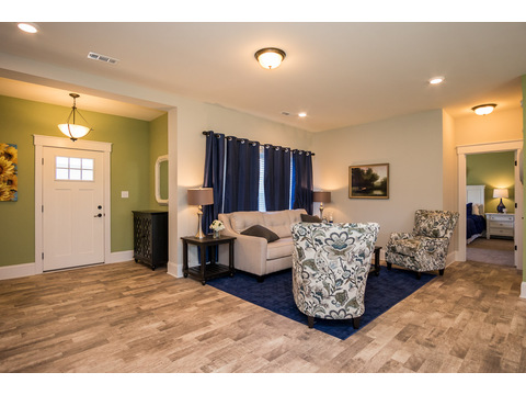 Living Room and Foyer - The Logan, 3 Bedrooms, 2 Baths, 1,720 Sq. Ft.
