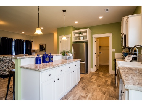 Kitchen - The Logan, 3 Bedrooms, 2 Baths, 1,720 Sq. Ft.