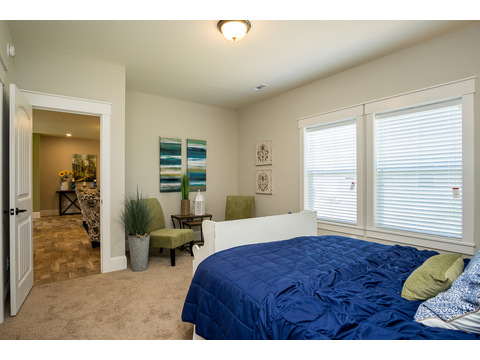 Master Bedroom - The Logan, 3 Bedrooms, 2 Baths, 1,720 Sq. Ft.