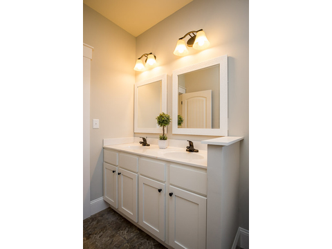 Master Bath Vanity - The Logan, 3 Bedrooms, 2 Baths, 1,720 Sq. Ft.