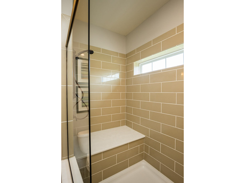 Master Bath Shower - The Logan, 3 Bedrooms, 2 Baths, 1,720 Sq. Ft.