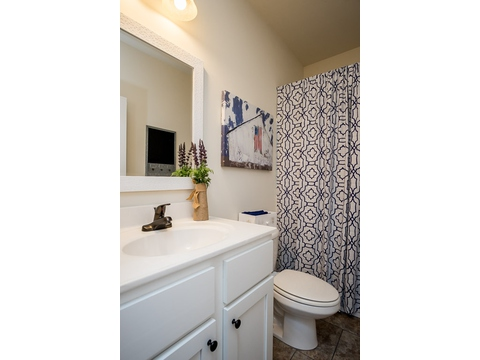Guest Bath - The Logan, 3 Bedrooms, 2 Baths, 1,720 Sq. Ft.