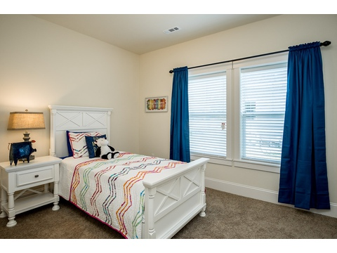 Secondary Bedroom - The Logan, 3 Bedrooms, 2 Baths, 1,720 Sq. Ft.