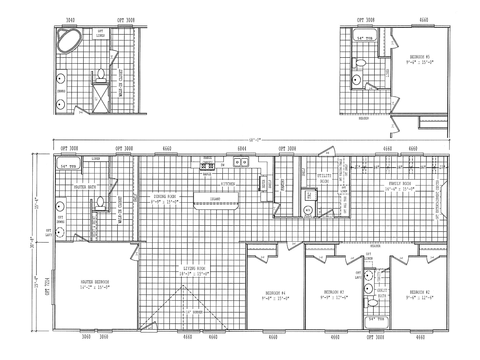 Optional PH32684G Floor Plan