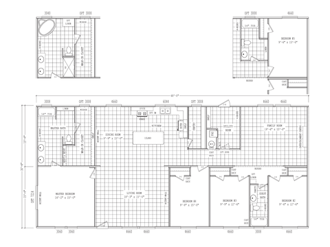 >Model VZ32684G Standard Floor Plan