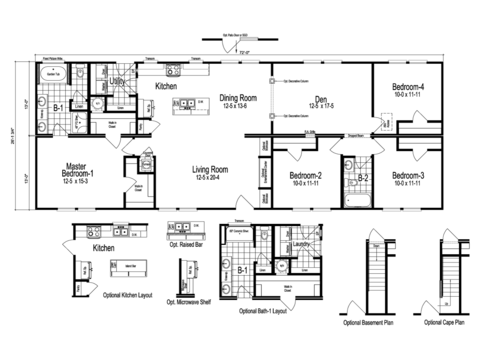 >The Drake Floor Plan