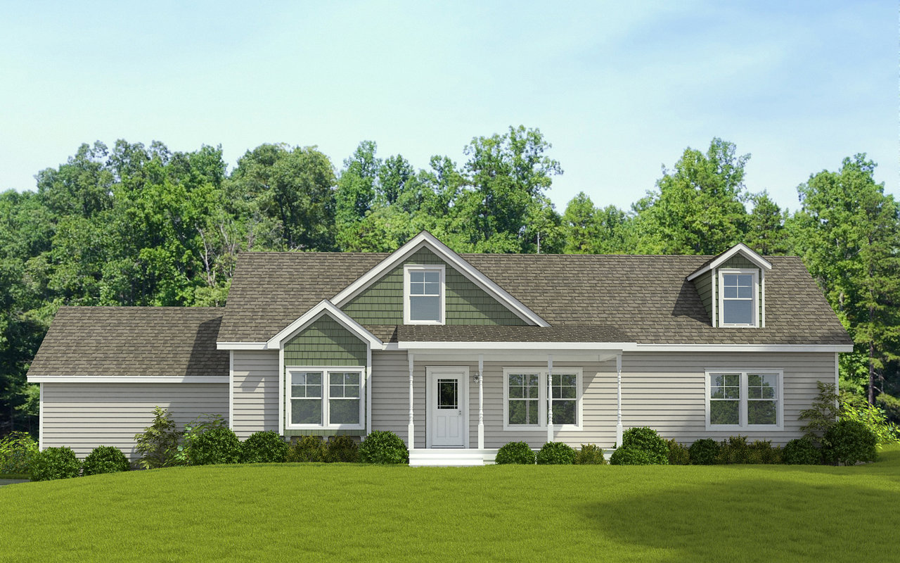 View The Noble Cape Floor Plan For A 1464 Sq Ft Palm Harbor