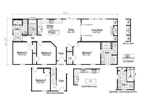 >The Anson Floor Plan