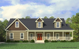 Craftsman Elevation - The Greenbrier III by Palm Harbor Homes