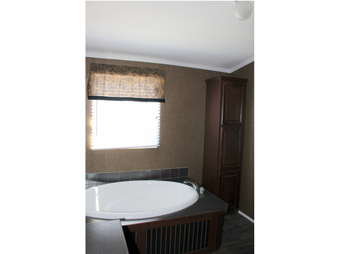 The large soaking tub will soak away the cares at the end of the day! And you will love the separate toilet room