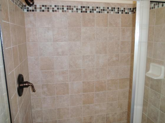 Hacienda Tiled Shower