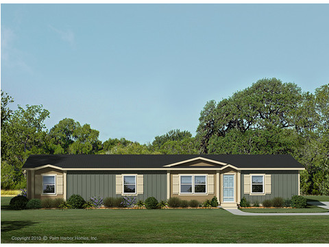 Exterior Elevation - The Benbrook ML30644B by Palm Harbor Homes