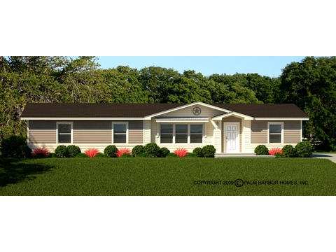 Optional Coronado Exterior - The Benbrook ML30644B by Palm Harbor Homes