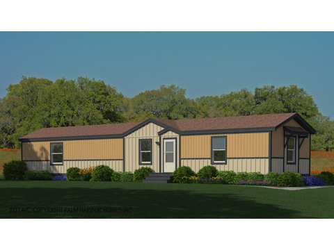 The Trinity FFG376D5 artist's rendering - Sun Ranch exterior with dormer