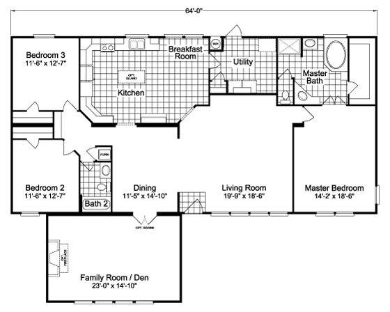 View The Bonanza Flex Floor Plan For A 2302 Sq Ft Palm