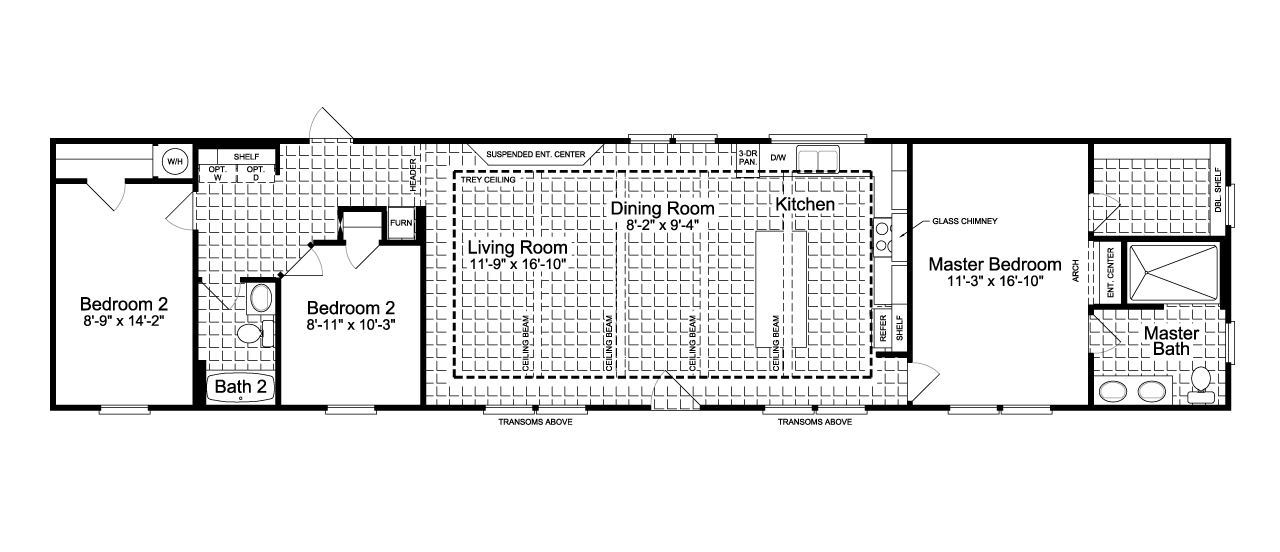 Santa fe floor plans gurus floor for Santa fe house plans