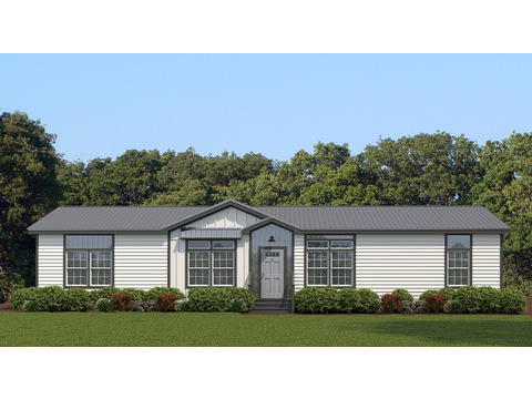 The Vintage Farmhouse Model: FT32643C (artist's rendering shown with: Opt Metal Roof, Opt Gridded Windows)