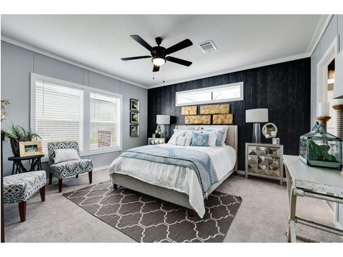 Master Bedroom - The Horizon 48 Limited Edition - 3 Bedroom, 2 Bath - 1440 sq. ft.