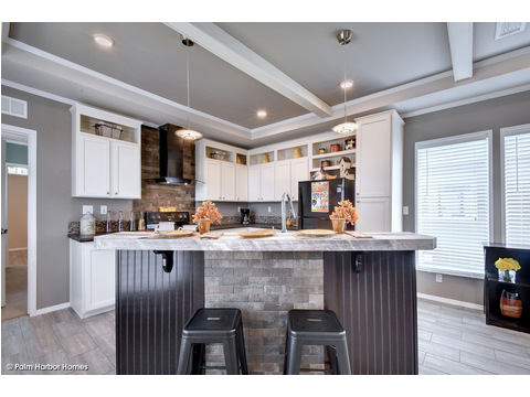 Kitchen - The Grand Haven FF16763H by Palm Harbor Homes
