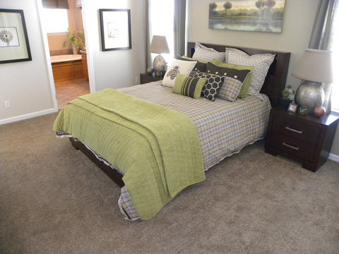 Master bedroom - The Rockwall SCWD72A9 by Palm Harbor Homes