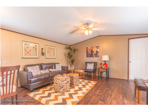 Living Room - Model 16563V, 3 Bedrooms, 2 Baths, 868 Sq. Ft.
