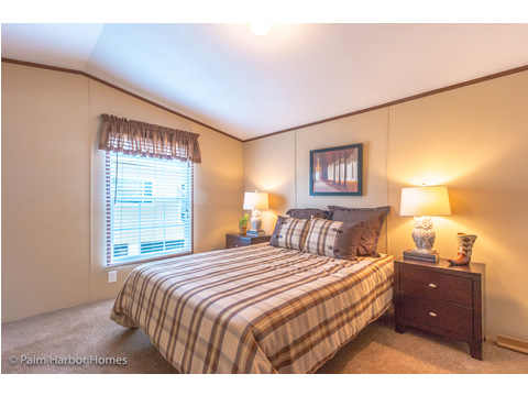 Master Bedroom - Model 16563V, 3 Bedrooms, 2 Baths, 868 Sq. Ft.