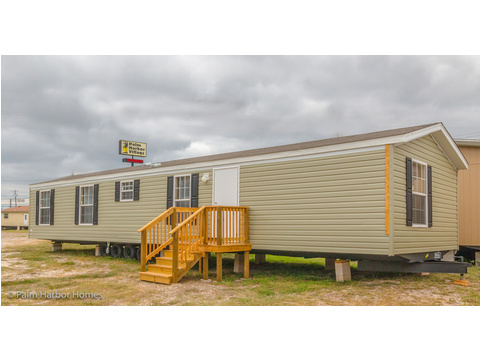 Model 16563V, 3 Bedrooms, 2 Baths, 868 Sq. Ft.