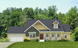 Craftsman Elevation - The Abilene by Palm Harbor Homes